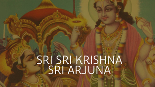 Sri Sri Krishna y Sri Arjuna