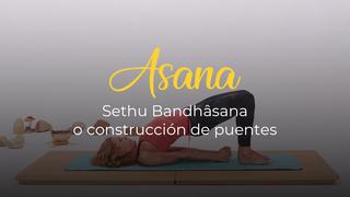 Sethu Bandhâsana o postura de construcción de puentes