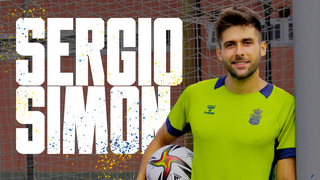 """Sergio Simón: """"Tengo ganas de seguir mejorando y creciendo con el equipo"""""""
