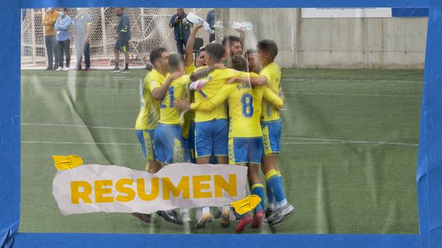 RESUMEN | Las Palmas Atlético - Granada B (0-0)