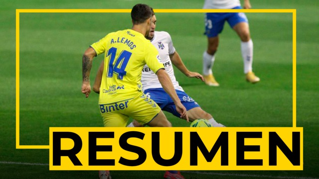 RESUMEN | Tenerife - UD Las Palmas (1-1)