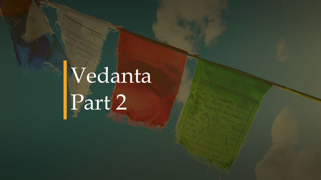 Mani Raman - Vedanta parte 2