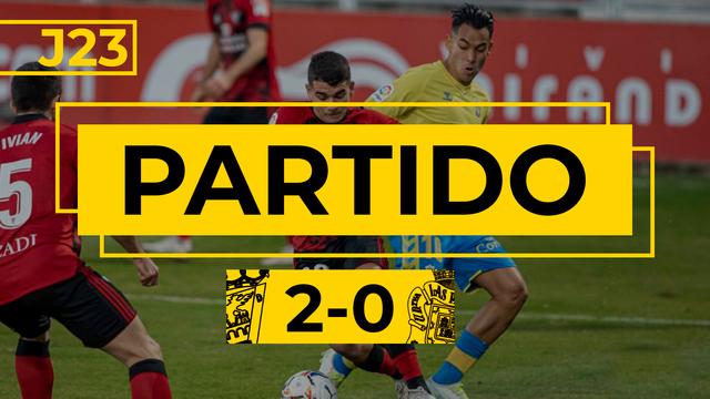 PARTIDO COMPLETO | Mirandés - Las Palmas (2-0)