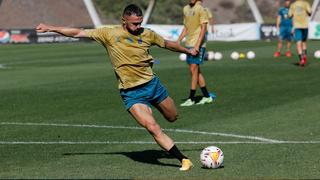 Único entrenamiento en Gran Canaria