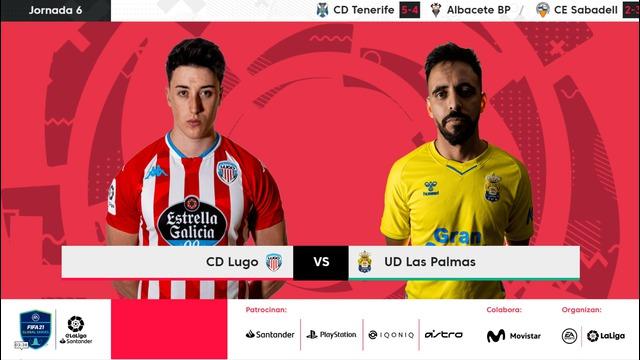 Jornada 6   CD Lugo 2-2 UD Las Palmas