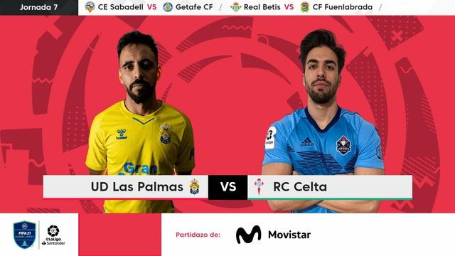 Jornada 7 | UD Las Palmas 5-4 RC Celta