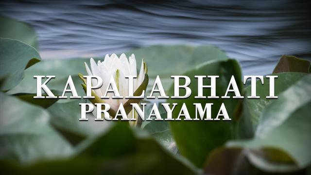 Pranayama Practice 1: Kapalabhati