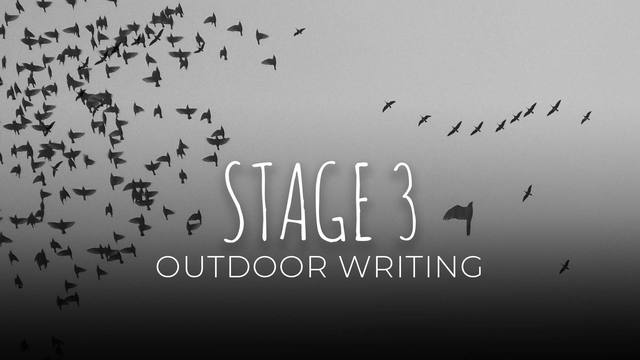 23 Outdoor writing