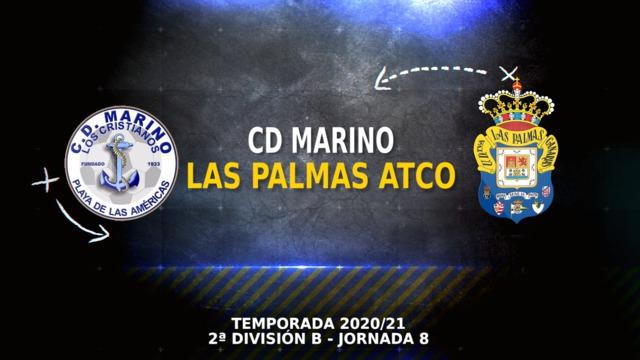 PARTIDO COMPLETO | Marino - Las Palmas Atlético (0-0)