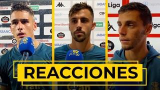 REACCIONES | Nos atiende los jugadores tras la derrota ante el CD Lugo