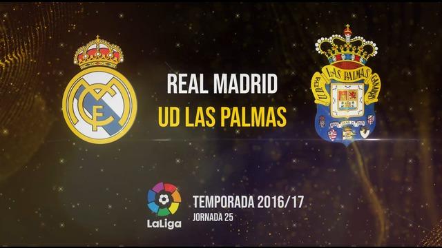 Real Madrid 3-3 UD Las Palmas | Temp. 2016/17