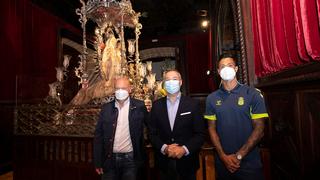 La UD visita a la Virgen del Pino