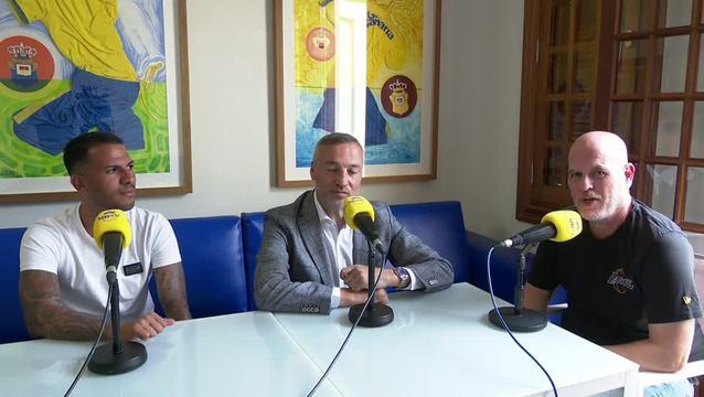 Primera entrevista a Jonathan Viera tras su regreso.