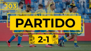 PARTIDO COMPLETO | Las Palmas - Huesca (2-1)