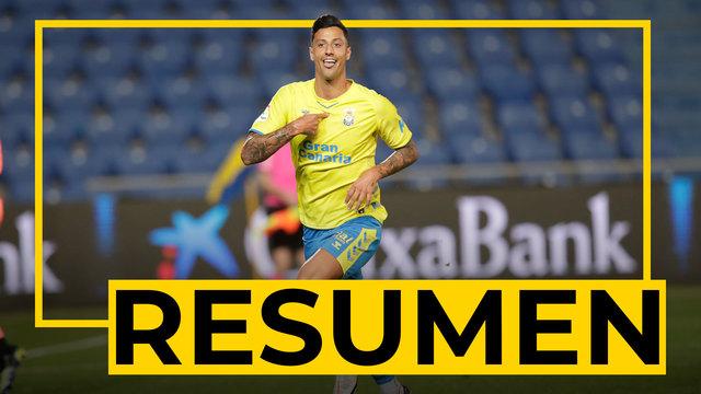 RESUMEN | Las Palmas - Cartagena (2-0)