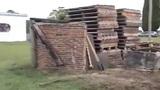 Construcción de casas con materiales reciclados