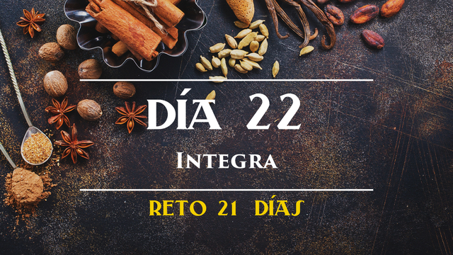 Día 22 - Integra