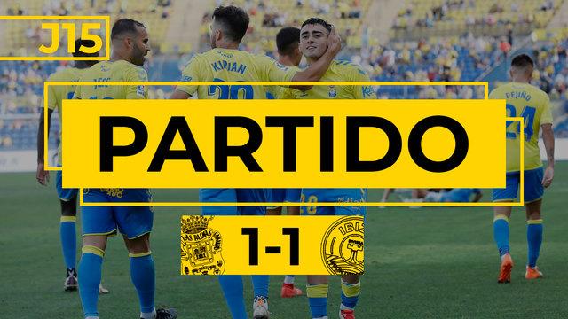 PARTIDO COMPLETO | Las Palmas - Ibiza (1-1)