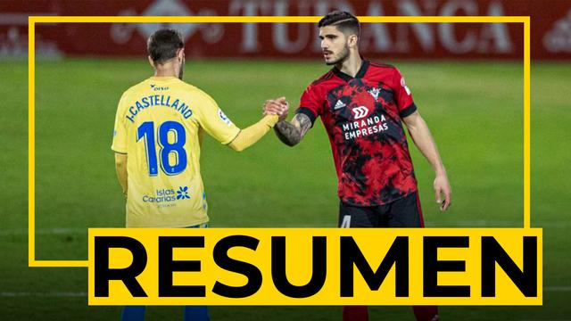 RESUMEN | Mirandés - Las Palmas (2-0)