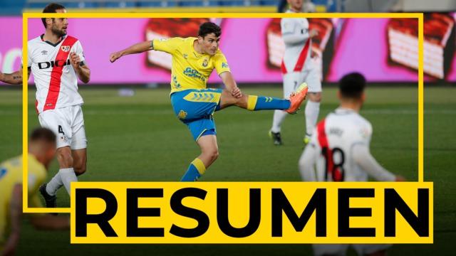 RESUMEN | Las Palmas - Rayo Vallecano (1-1)