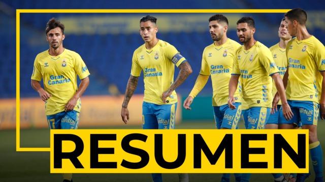 RESUMEN | Las Palmas - Zaragoza (0-2)