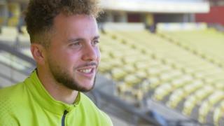 """Yeray: """"Jugar en el Estadio Gran Canaria es uno de mis próximos objetivos"""""""