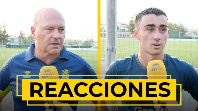 REACCIONES | Pepe Mel y Alberto Moleiro hablan tras la victoria ante el Cádiz