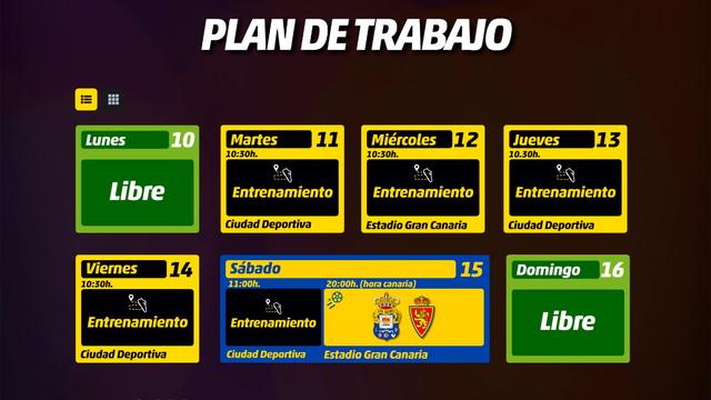 Agenda UD Las Palmas - Jornada 39