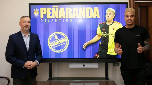 Peñaranda, cedido a la UD Las Palmas