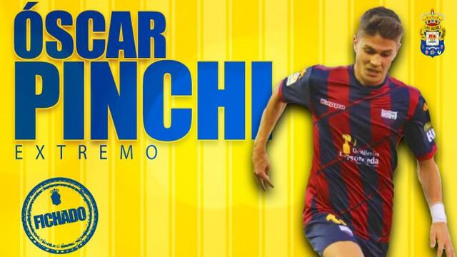 Óscar \'Pinchi\', nuevo refuerzo de la UD