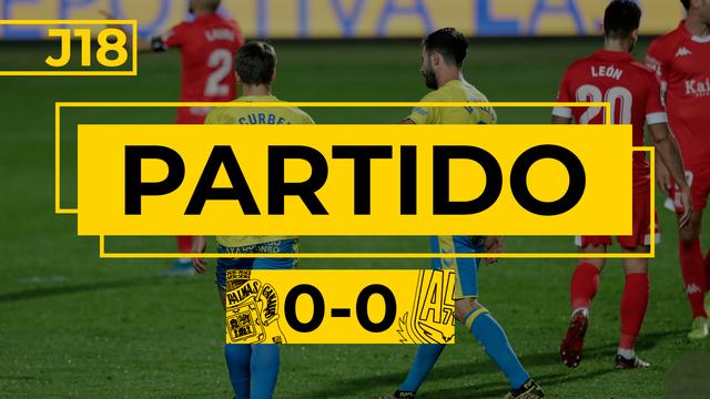PARTIDO COMPLETO | Las Palmas - Alcorcón (0-0)