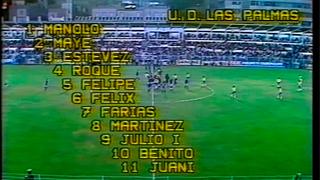 UD Las Palmas 2 -1 FC Barcelona | Temp. 1981/1982