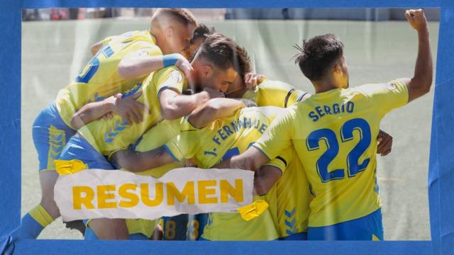 RESUMEN | Las Palmas Atlético - Yeclano (4-2)