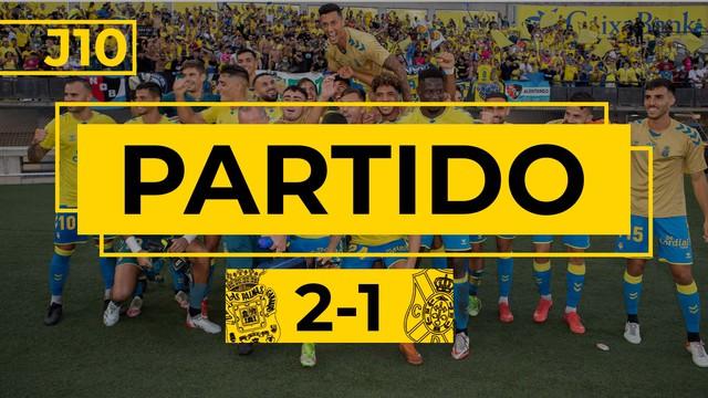 PARTIDO COMPLETO | Las Palmas - Tenerife (2-1)