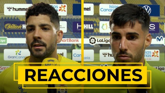 REACCIONES | Declaraciones de Álex Suárez y Fabio tras el UD Las Palmas - Zaragoza