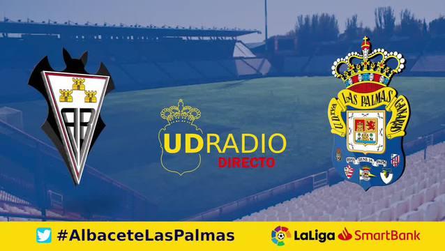 Así contamos lo contamos en UDRADIO | Albacete 1-1 Las Palmas