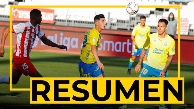 RESUMEN   Almería - UD Las Palmas (3-1)