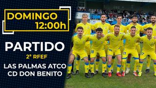 LAS PALMAS ATLÉTICO - DON BENITO