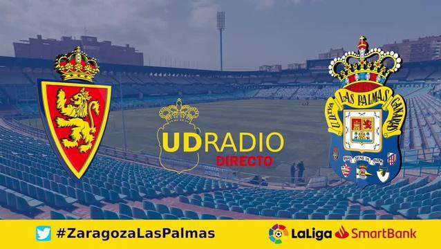 Así contamos lo contamos en UDRADIO   Zaragoza 2-2 Las Palmas