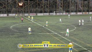 PARTIDO COMPLETO   Villa Santa Brígida - Las Palmas C (1-1)